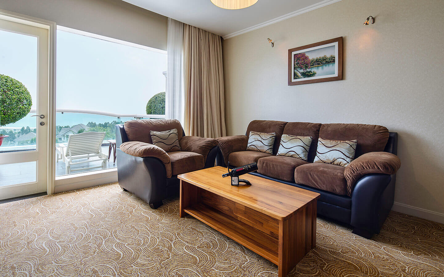 sofa premium delxe king sea links beach hotel